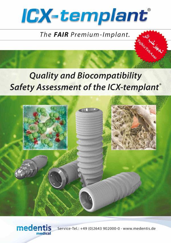 زیست سازگاری در ایمپلنت ICX